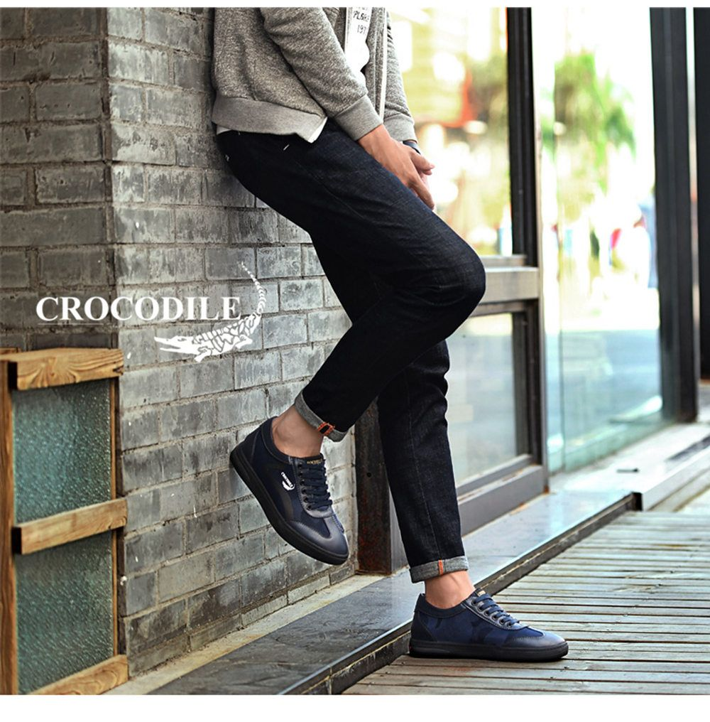 CROCODILE Inside Heighten The New Men's Casual Shoes 2018 WFX00372046