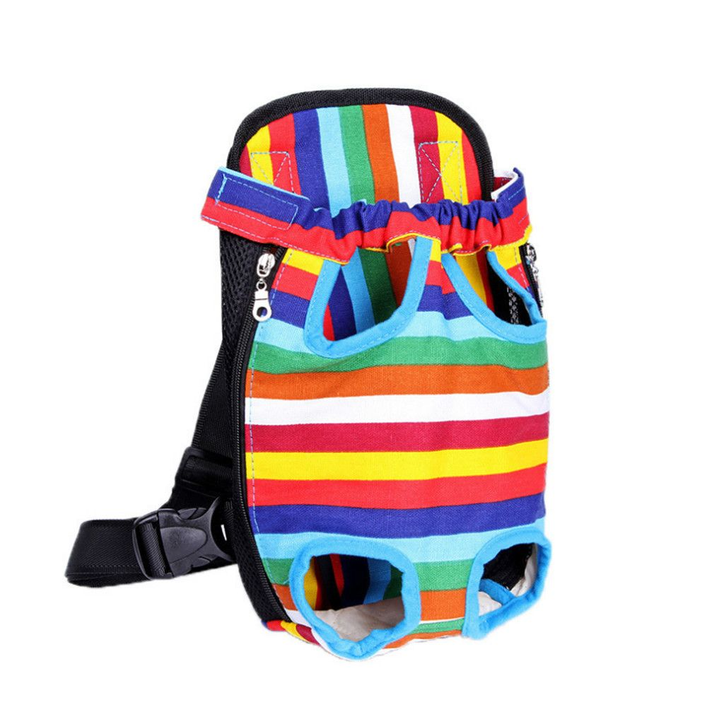 Pets Go Out Chest Backpack