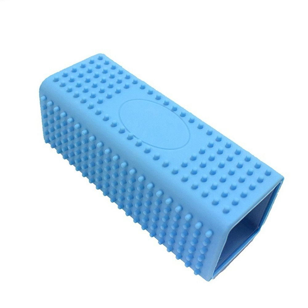 Hollow Silicone Pet Hair Removal Brush