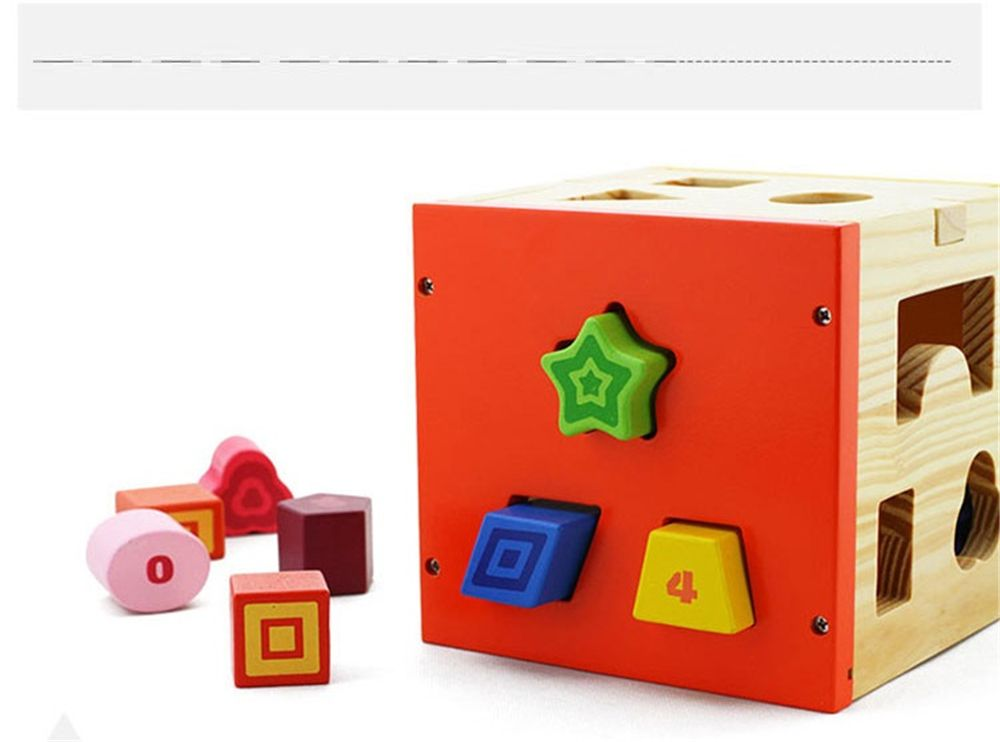 Early Childhood Shape Cognitive Toy Box for Children