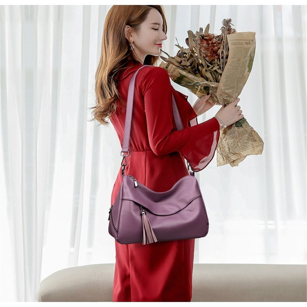 Stylish Shoulder Diagonal Portable Lady Backpack