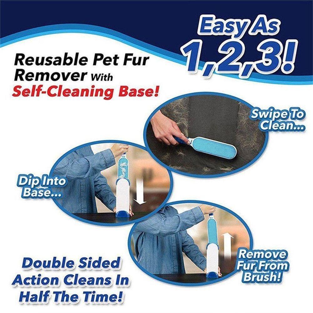 Pet Grooming Brush Three-Piece Suit