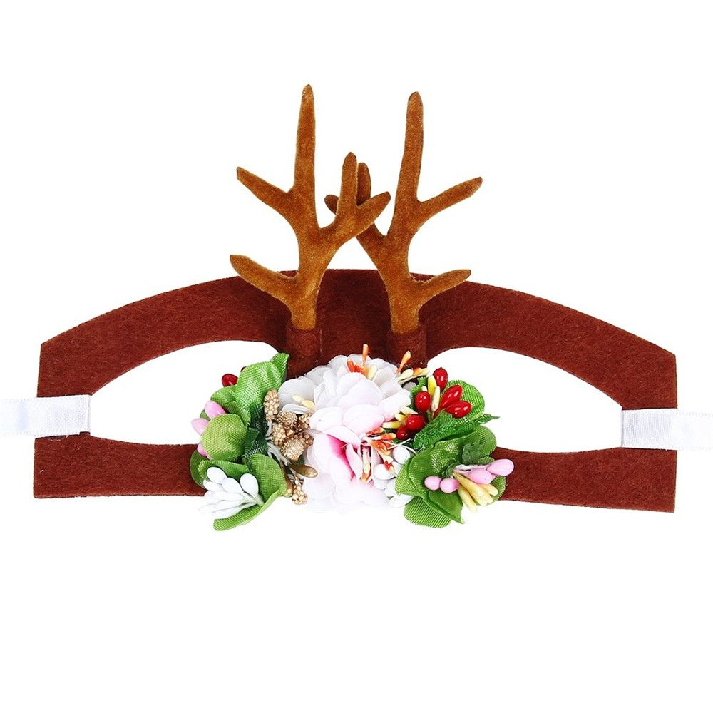 Spear Reindeer Antlers Cat Headdress