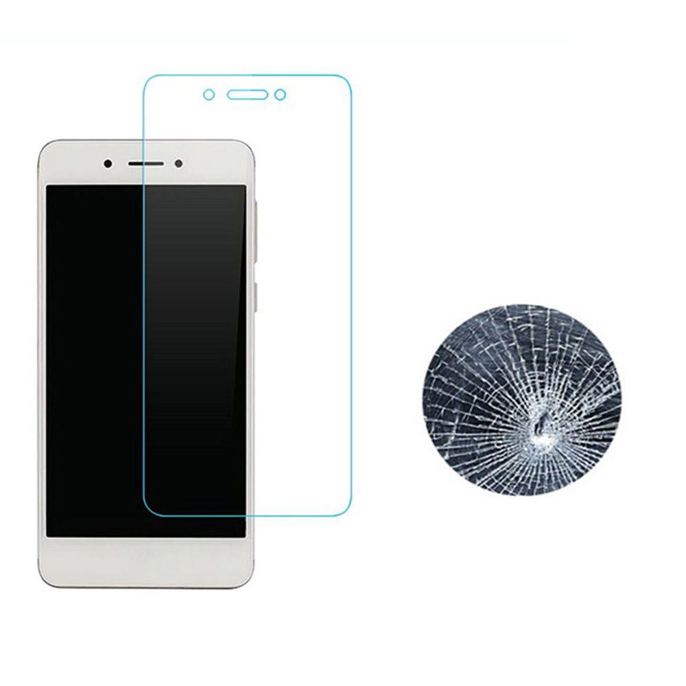 Premium Tempered Glass Screen Pri Rotector 9H Film for Samsung Galaxy A710 A7 2016 2-PCS -TRANSPARENT