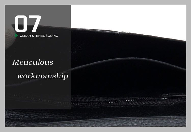DANJUE Genuine Leather Wallets for Men'S Long Real Leather Business Purse Fashion Clutches Bag