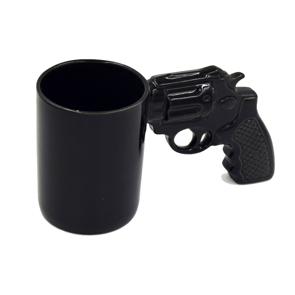Creative Revolver Milk Coffee Mug
