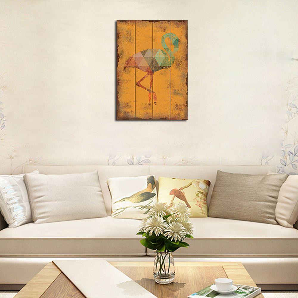 QiaoJiaHuaYuan Frame Canvas Without Frame Canvas Living Room Sofa Background Bedroom Decorates Abstract Geometry