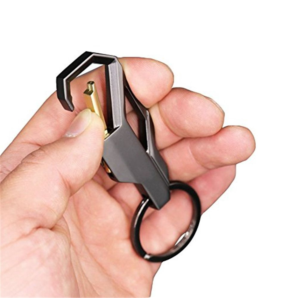 Car Keychain Metal Key Ring Business Gift 3pcs