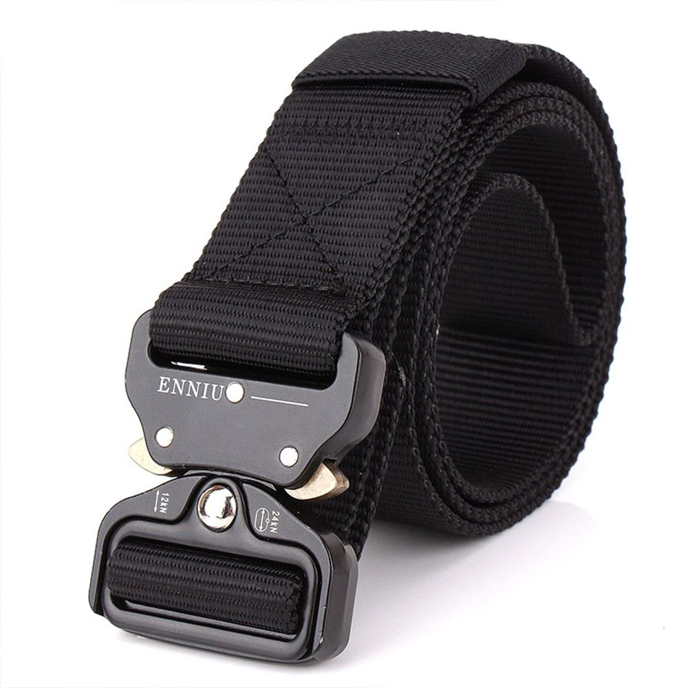 Outdoor Safety Belt Buckle Belt Training Speed Dry Pure Nylon Belt