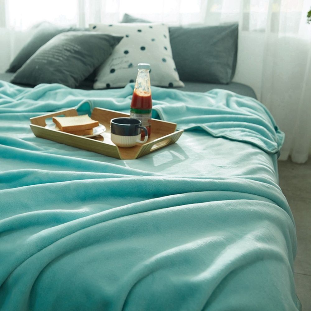 Thin Quilt air Conditioning Bed Nap Single Double Thickening Blanket