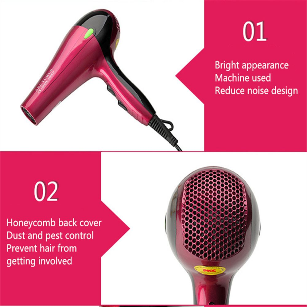 Do Not Hurt The Hair Barbershop Power 2000W Or More Hair Dryer