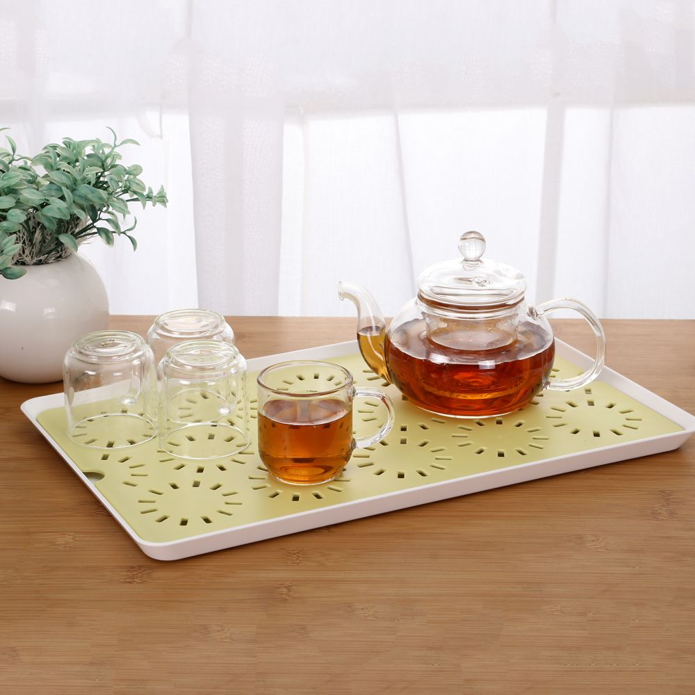 Hollowed-Out Double - Double - Water Tray Table Tray Tea Tray Tea Tray