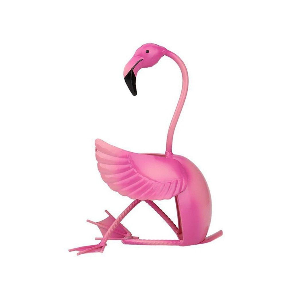 Artwork Flamingo Wine Shelf