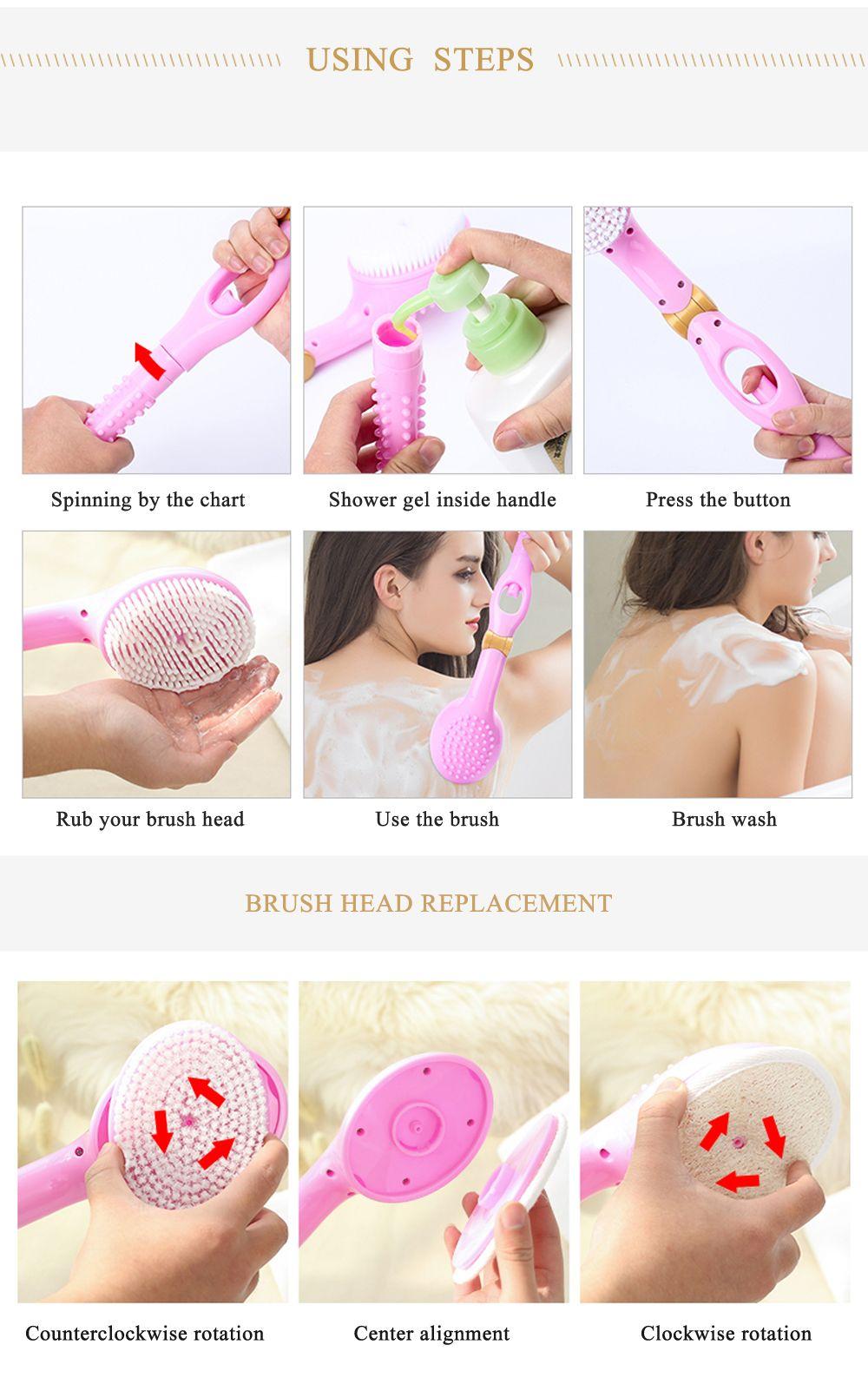Bath Automatic Shower Gel Brush