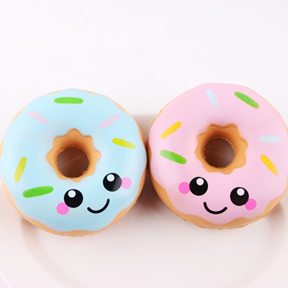 Squeeze Stretch Squishy Donuts Scented Slow Rising Gift Toy for Kids