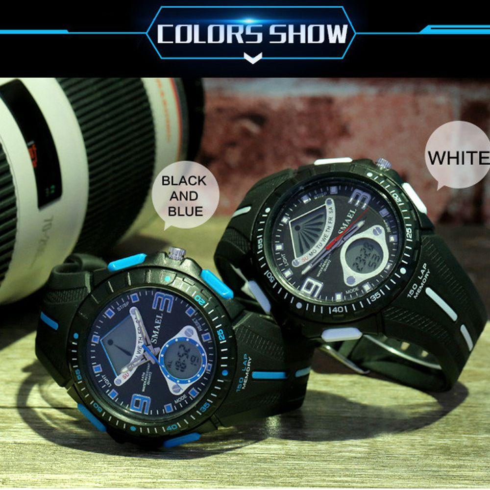 SMAEL 1315 Fashion Multi-function Electronic Sport LED Watch