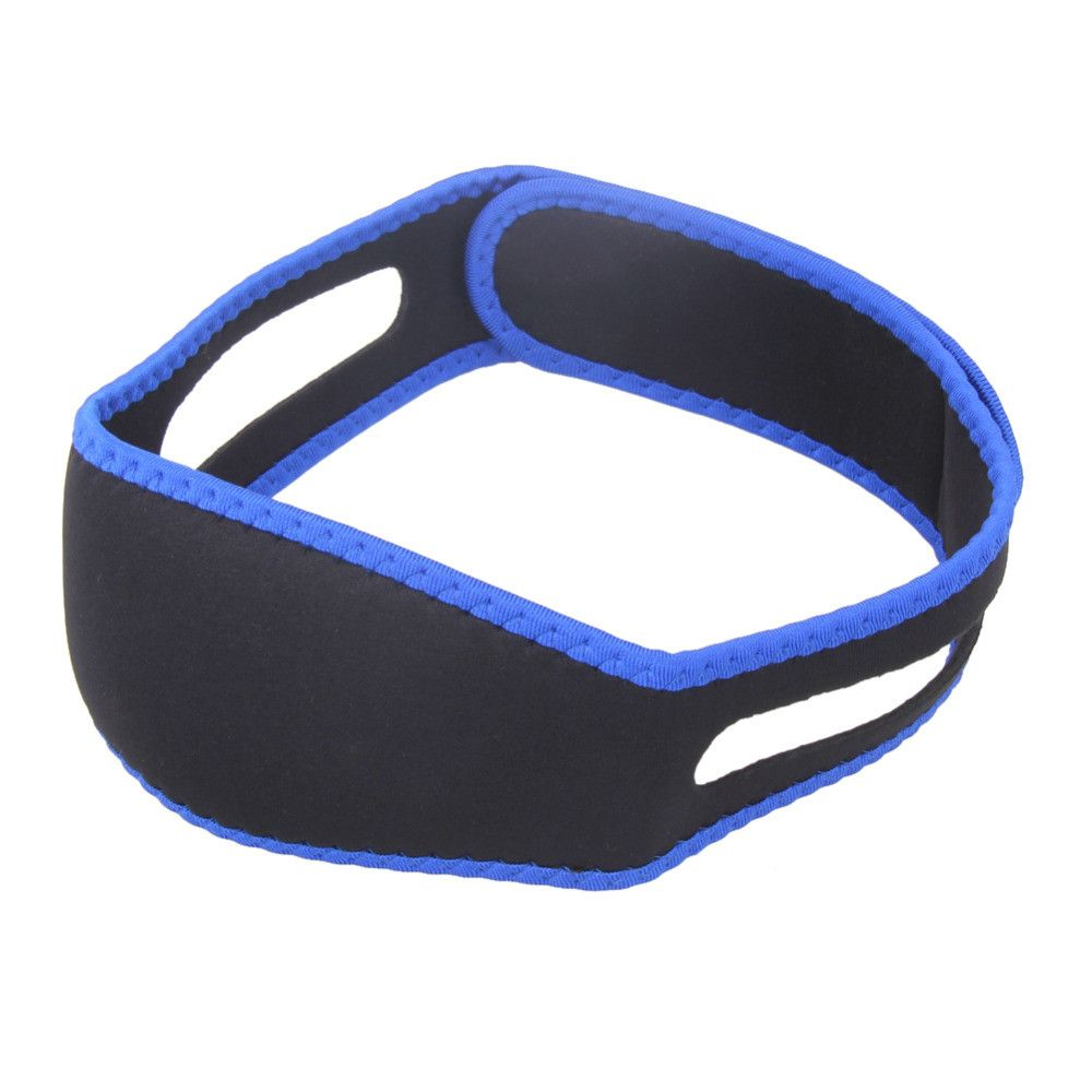 Men and Women with Anti-Snoring Headband