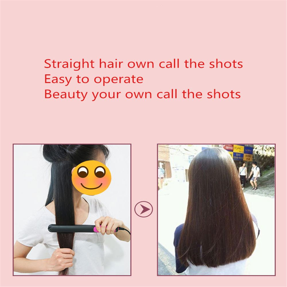 Hair Straightener Do Not Hurt The Hair Barbershop Curlers