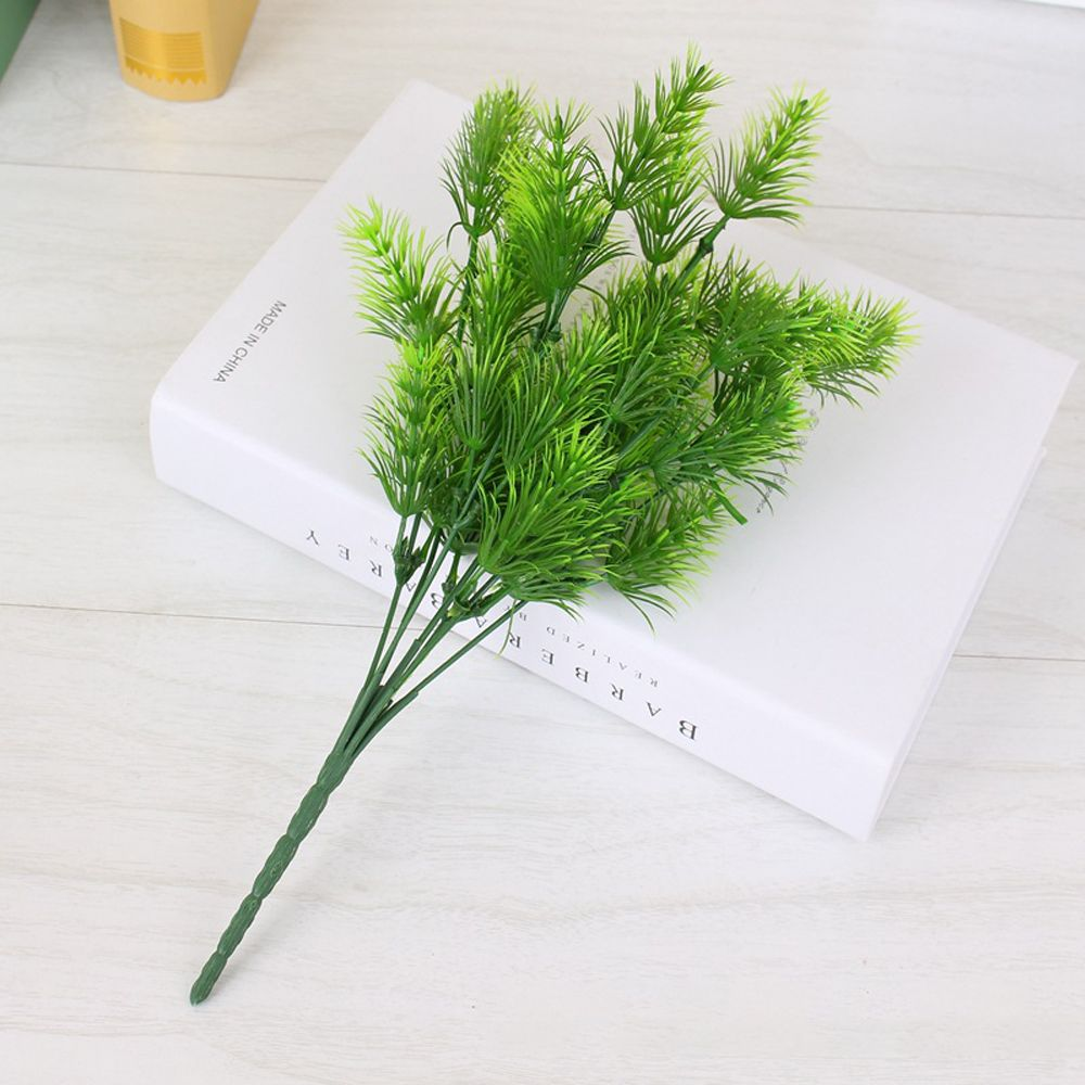 4 Pcs Artificial Plant Pine Needles Xmas Tree Decoration Diy Mixed Branchs Christmas Ornament Supplies