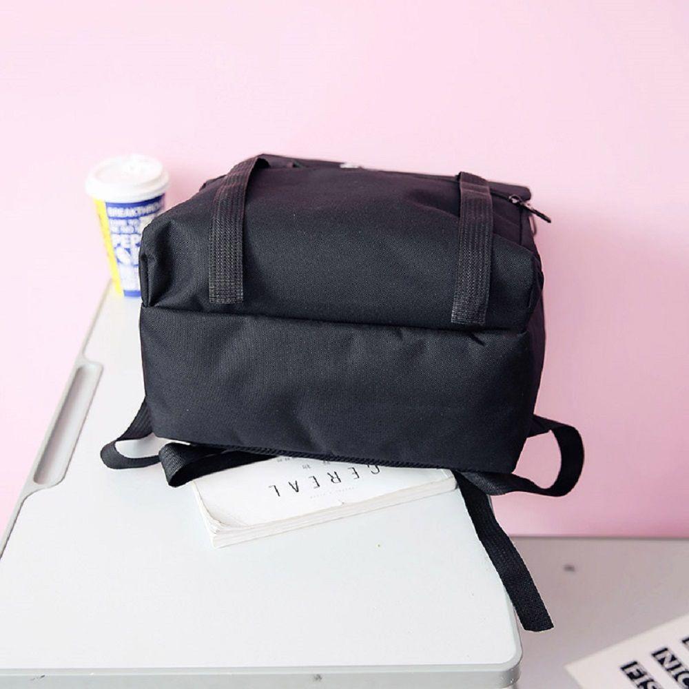 MENGHUO 2018 High-capacity Literature  Art fan Backpack Women Bag