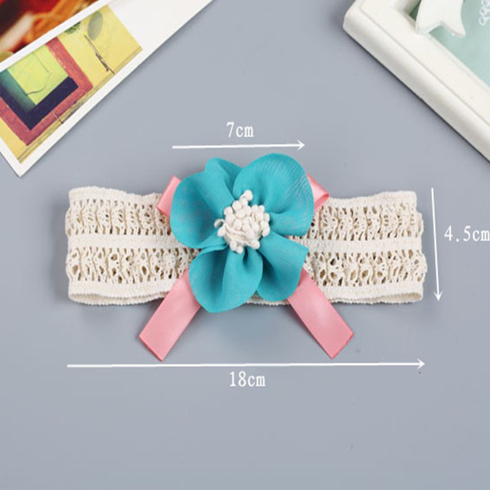 Children's Cloth Art Flowers Baby Hair Band
