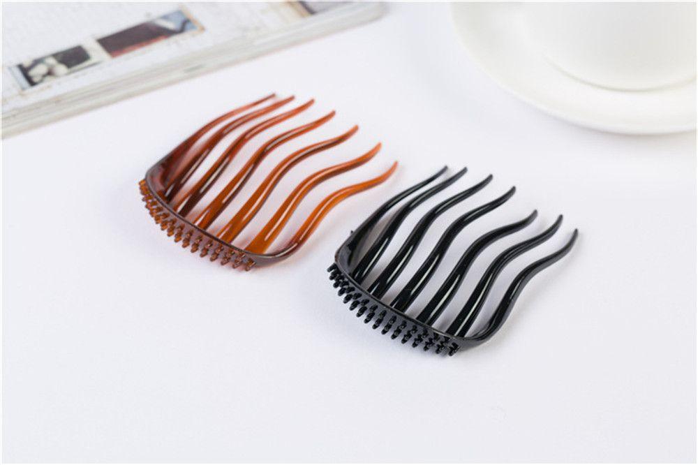 Women Fashion Hair Styling Clip Comb Stick Bun Maker Braid Tool Hair