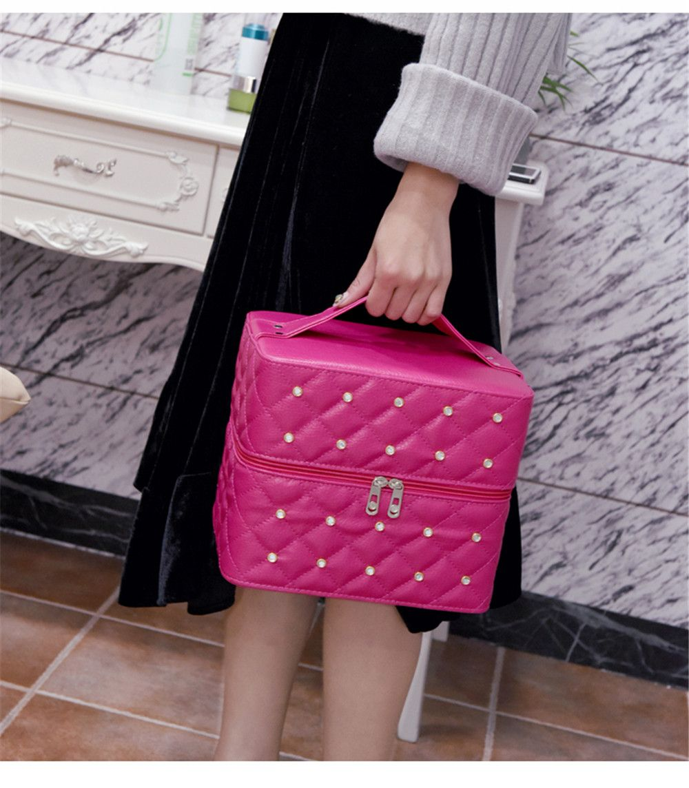 Multi-storey Cosmetic Bag Simple Portable Storage Box