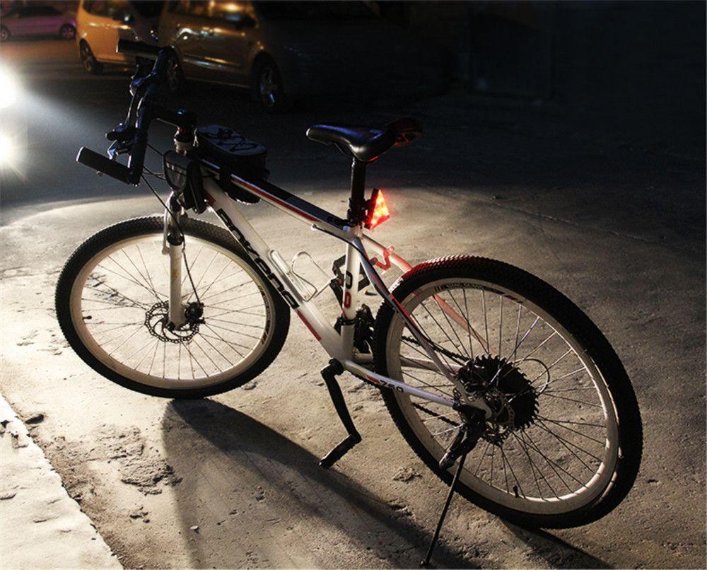 LEADBIKE LED Bicycle Rear Light Waterproof MTB Flashing Warning Lamp Cycling Accessories