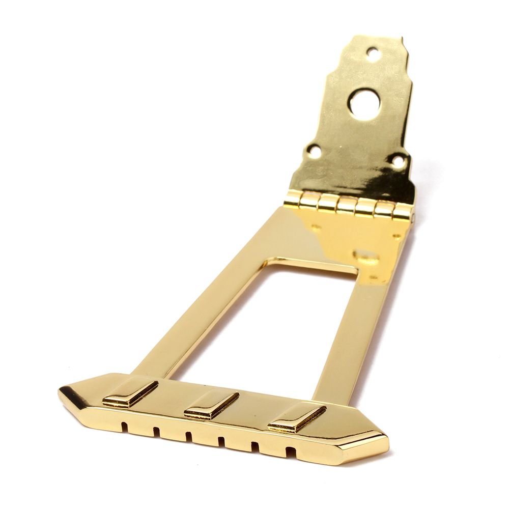 6 String Jazz Bass Guitar Trapeze Tailpiece Bridge