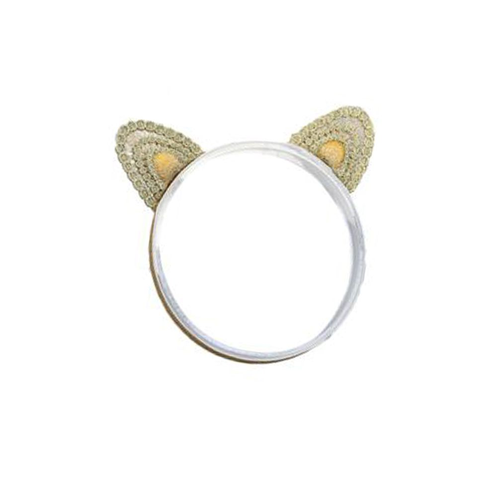 Three-dimensional Cat Ears Gold Embroidery Children's Three-dimensional Cat Ears Gold Embroidery Children's Hair Band