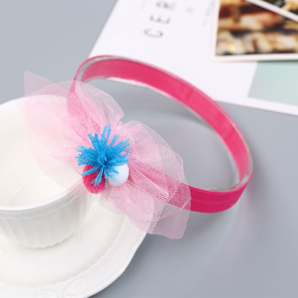Chiffon Ball Cute Children Hair Band
