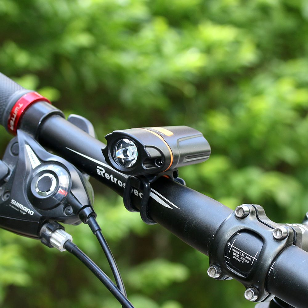 UltraFire UF - HT205 LED 300LM 6-Speed USB Charging Bicycle Light
