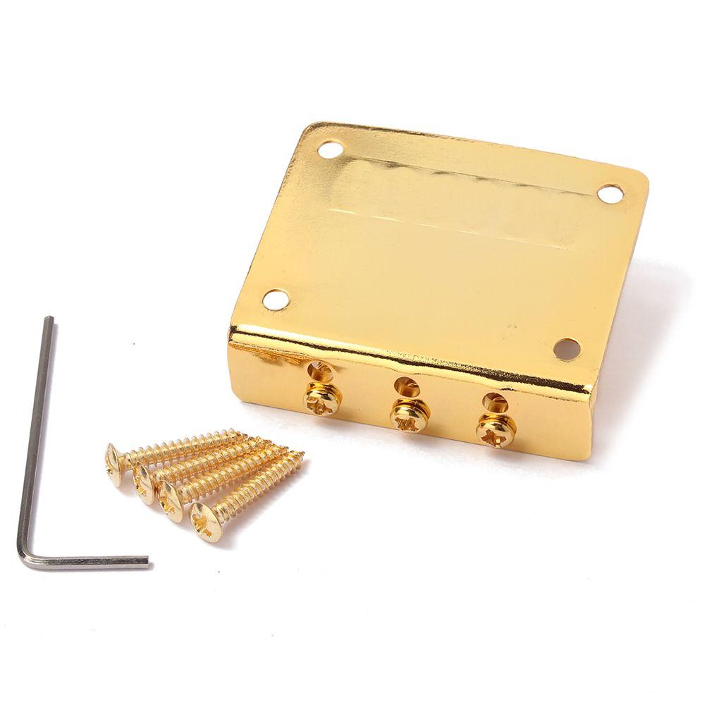 Cigar Box Guitar Parts 3 String Hard Tail Adjustable Bridge