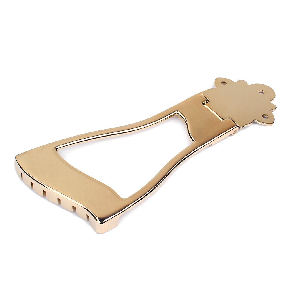 1Pc Jazz Bridge Tailpiece For Hollow Body Archtop Guitar