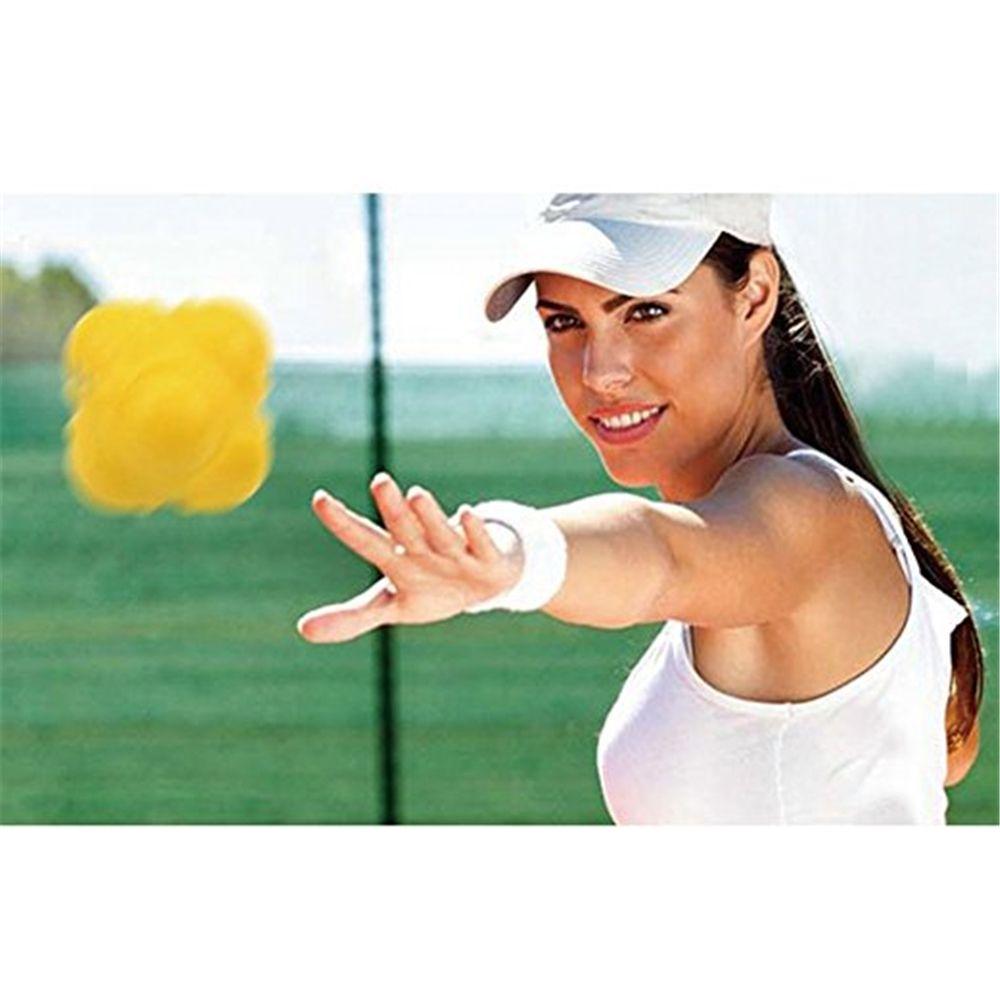 Hexagonal Reaction Ball Fitness Training Exercise Reaction Balls Sport Toy