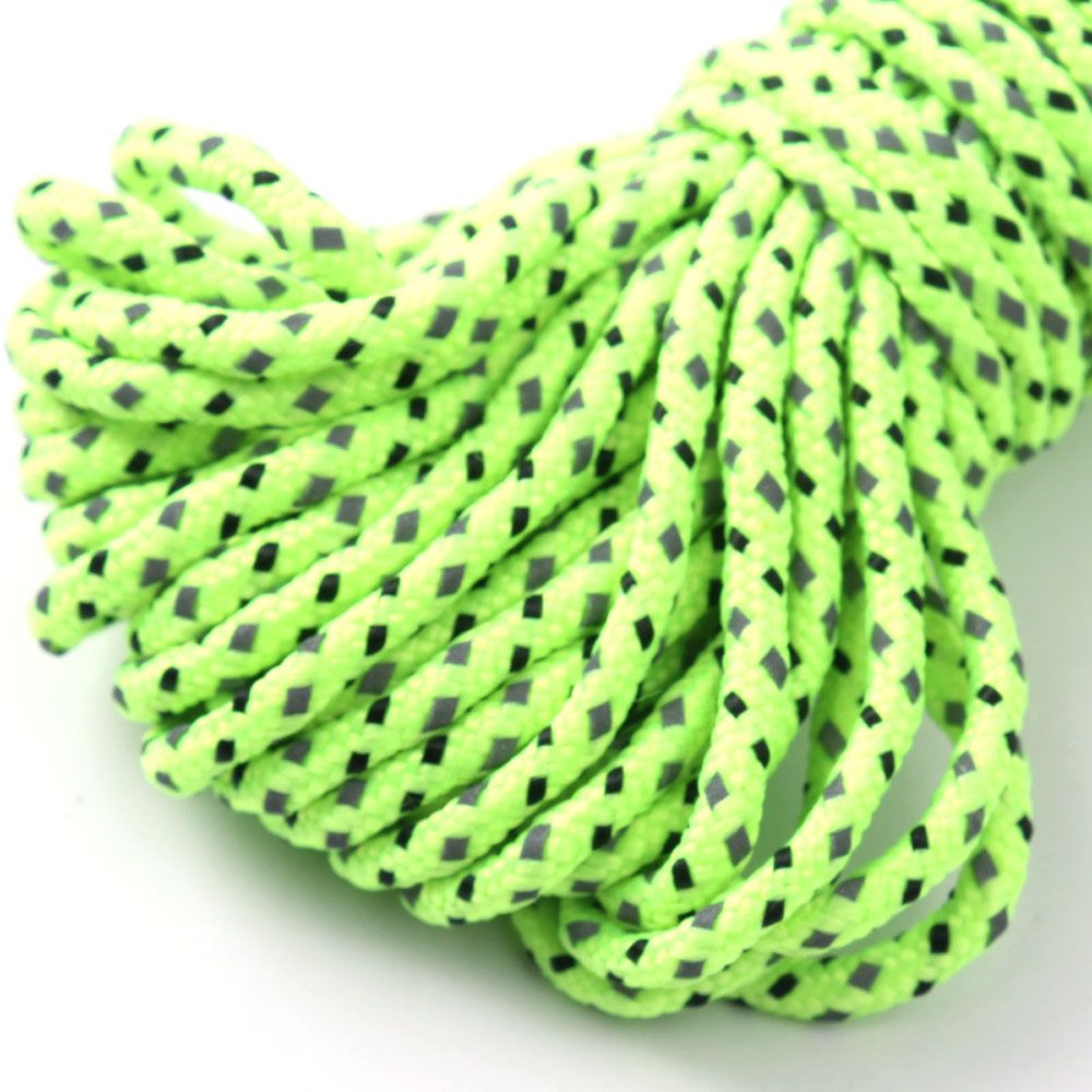 Outdoor 2.5MM Thick Outdoor 20M Reflective Tent Rope
