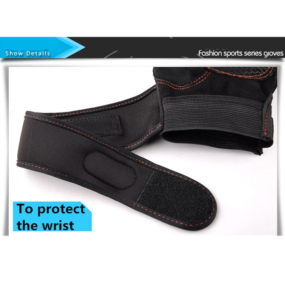 Wear-Resisting Training Men's Sports Fitness Half Refers To Outdoor Anti-Slip Gloves
