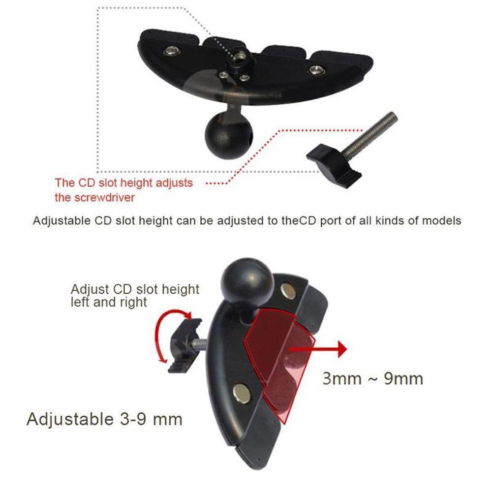 Seven-Inch Tablet Navigation Device Phone Bracket