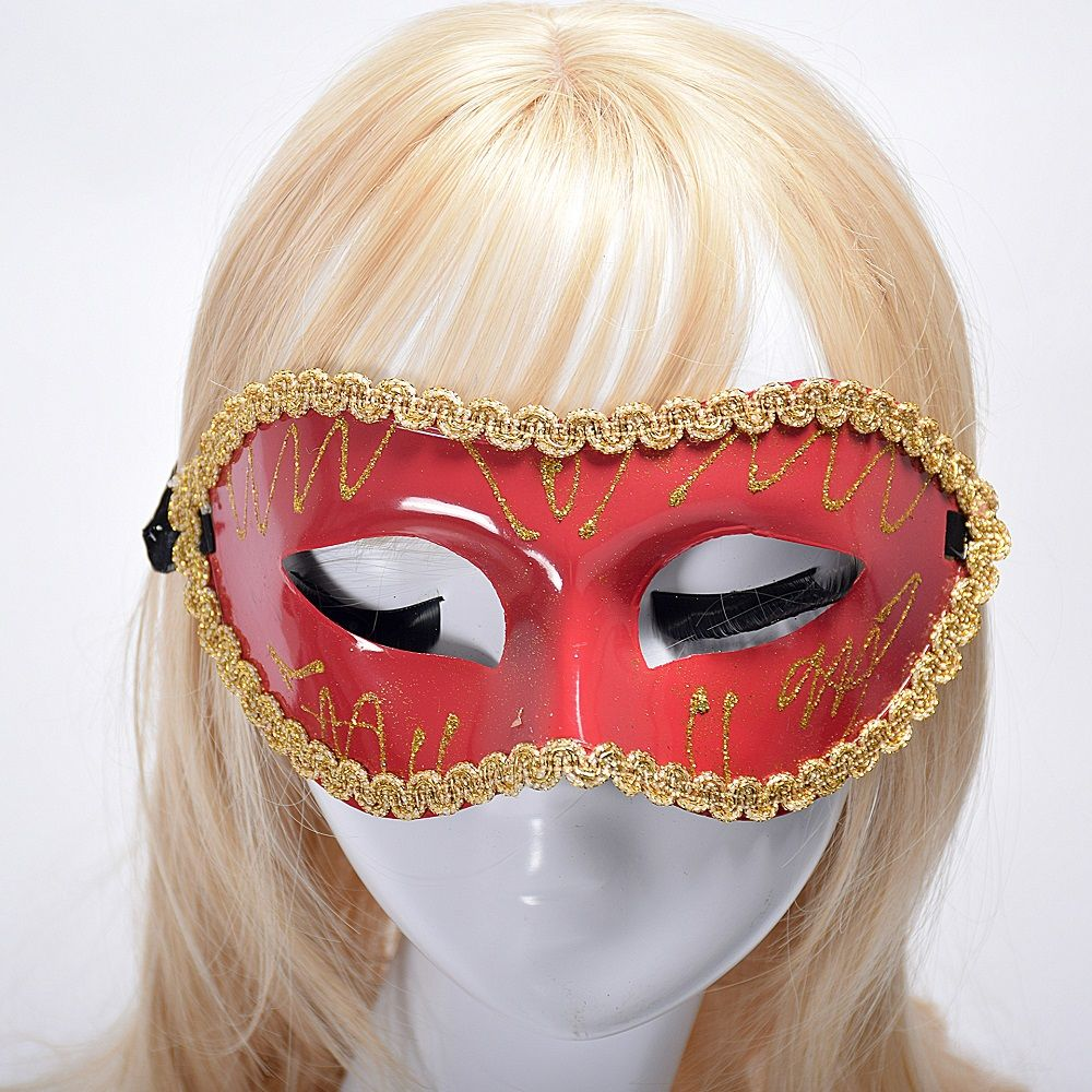 Halloween Party Masquerade Half Face Flat Picture