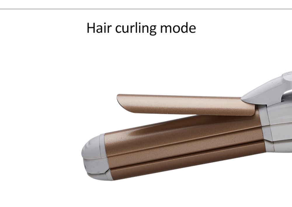 YOURS Hair Straightener Perm Dual-Use Curly Corn Hot Plywood Straight Hair Curling Power Stick Curlers RL-009