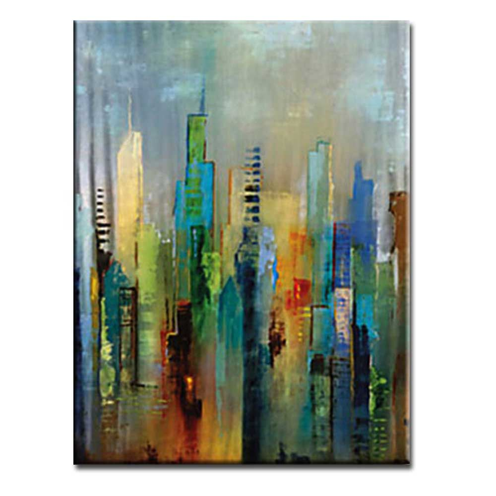 High Quality Hand Painted Abstract Canvas Oil Painting Abstract Art Home Wall Decoration