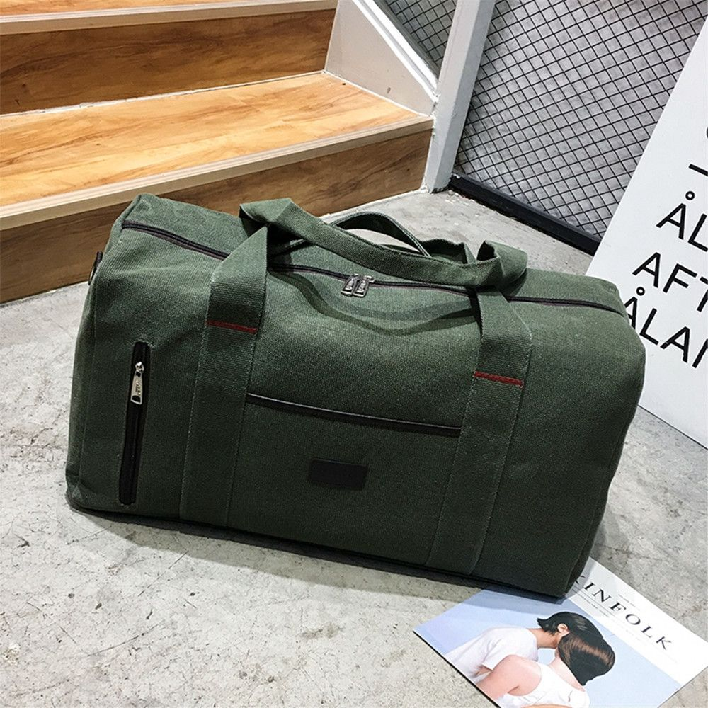 The Large Capacity of Men's Fashion Canvas Bag