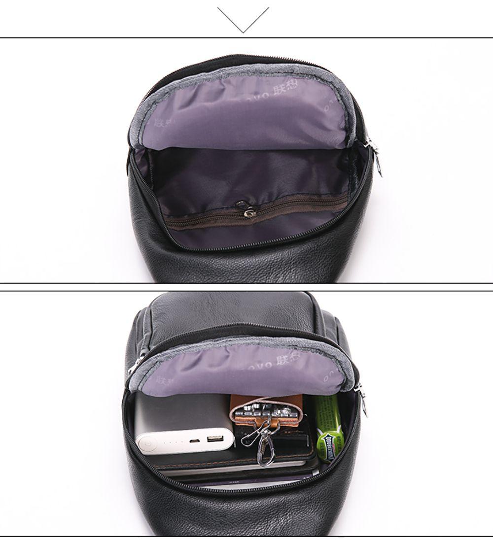 New Casual Korean Version of The Shoulder Backpack Messenger Men'S Sports  Chest Bag