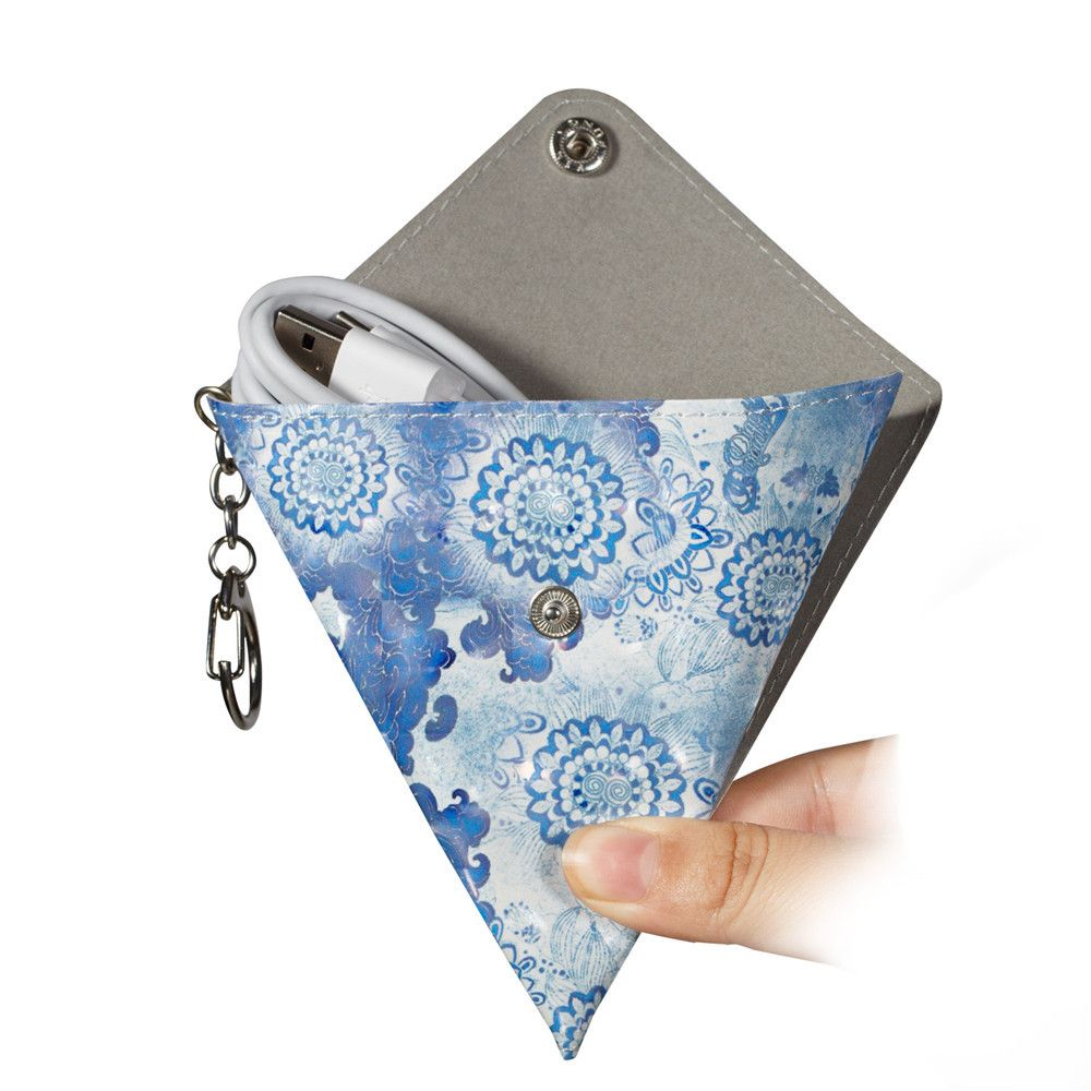 New Fashion PU Leather Small Wallet Purse Key Coin Bag
