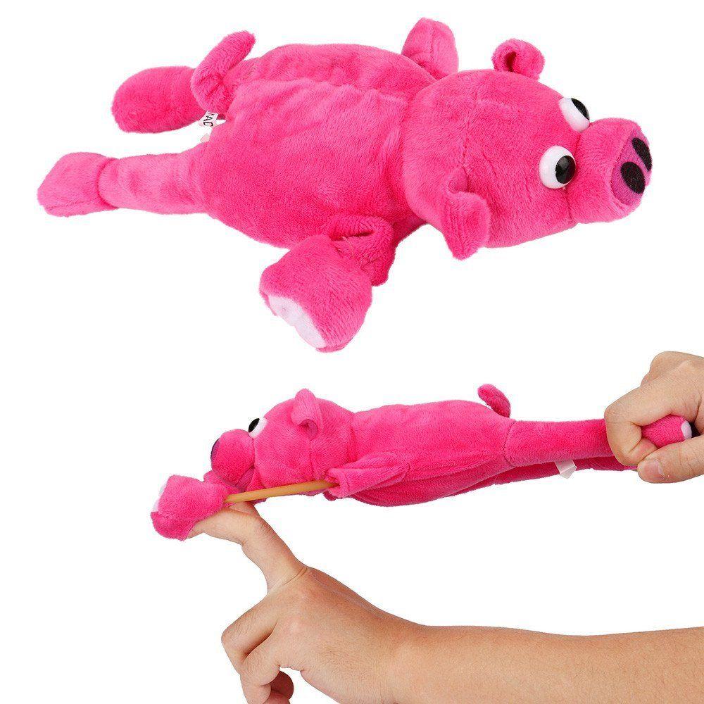New Funny Paw Toys Lovely Novelty Flying Pig Screaming Slingshot Plush Kids Gift