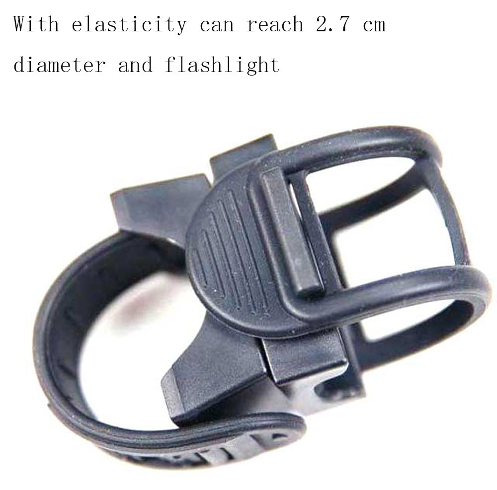 Bicycle Lamp Holder Strong Light Flashlight Holder Car Clip Flashlight Holder