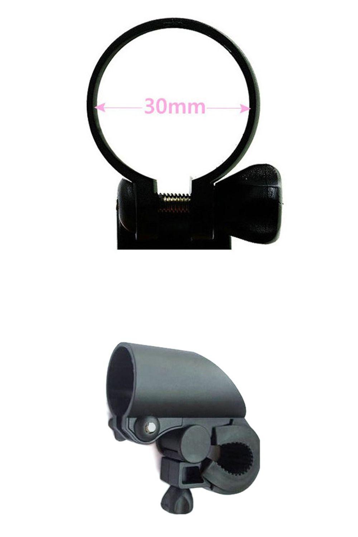 Bicycle Mountain Bike Flashlight Holder Lamp Holder Lamp Holder Flashlight Holder Riding Equipment