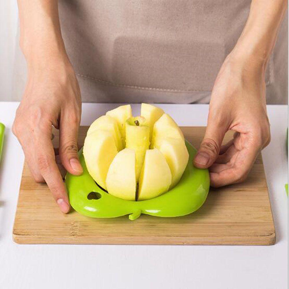 3 Piece Set Fruit Cutter Corer Slicer Divider Fruit Peeler and Fruit Paring Knife
