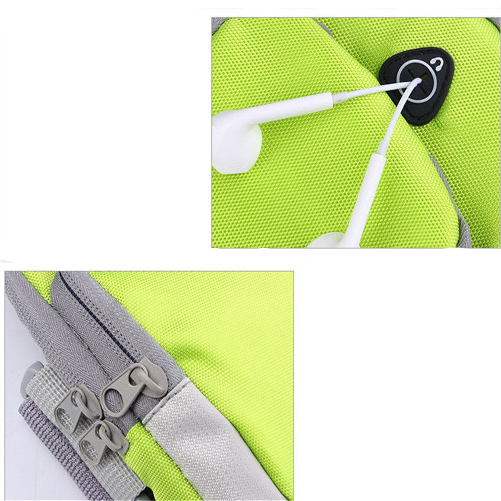Outdoor sports men and women running mobile arm package