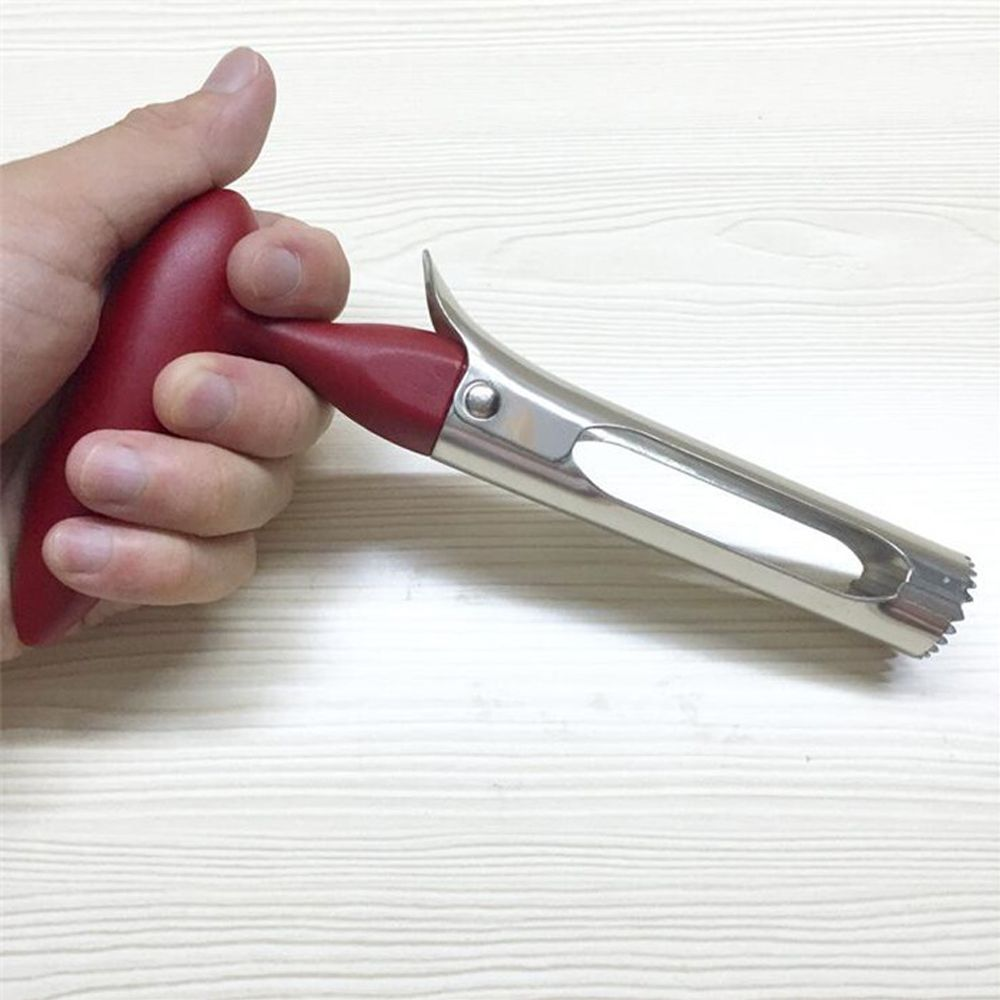 1 Pc High Quality   Fruit Vegetables Pear Remover Corer Easy Twist Stainless Steel Kitchen Tool Gadget Fruit Seeder